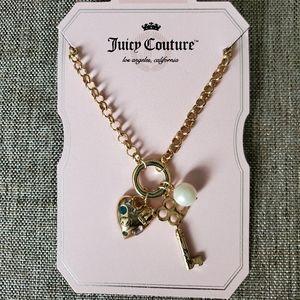 Juicy Coutour Heart Necklace